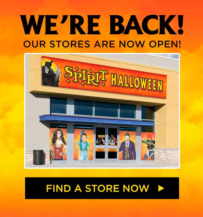 store locator temp - spirithalloween