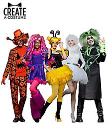 custom halloween costumes make your own costume create by color