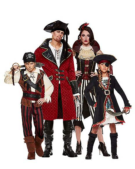 Pirate Crew at Spirit Halloween