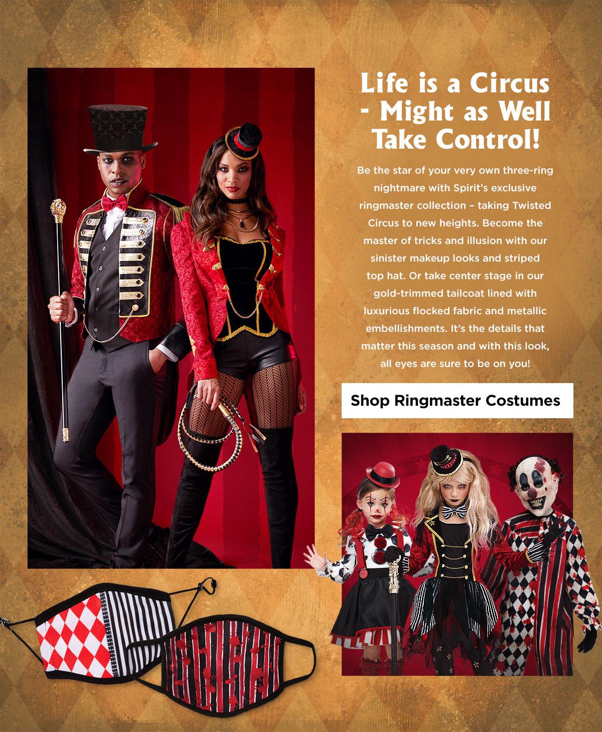 Circus and Ring Master