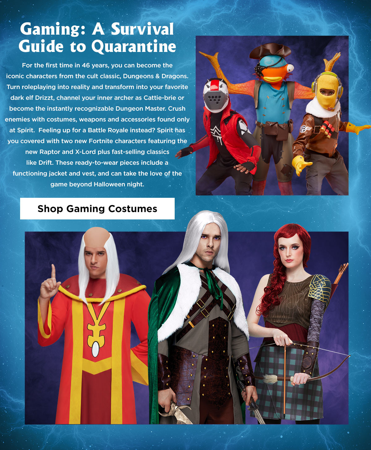 Gaming Costumes