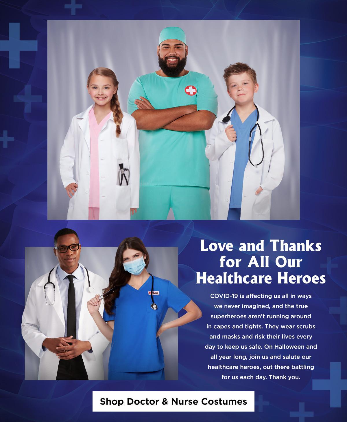 Health Care Nurse and Doctor