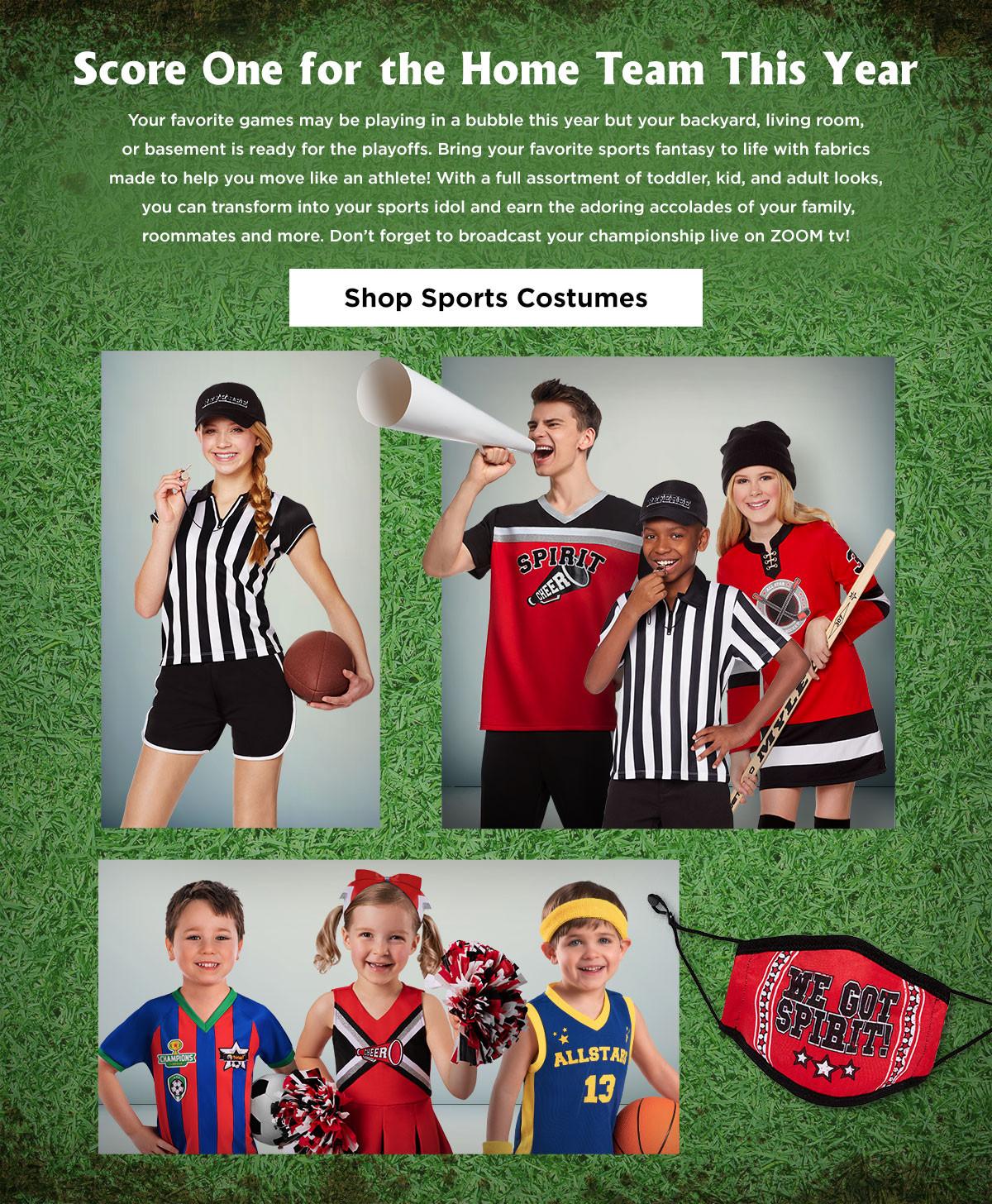 Sports Costumes