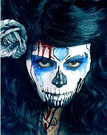 Melting Sugar Skull Makeup Tutorial