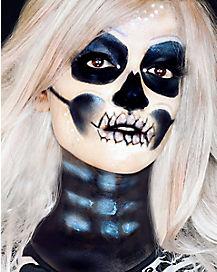 Metallic Skeleton Makeup Tutorial