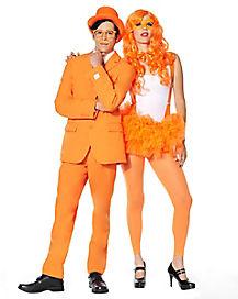 Orange Spirit Separates