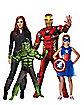 Avengers at Spirit Halloween