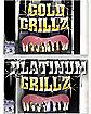 BB GRILLZ ASST. GLD&PLAT TEETH