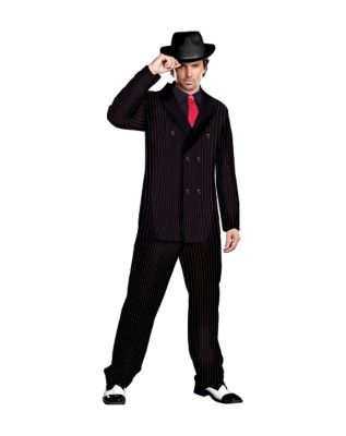 1930s Men's Clothing Mens Gangster Costume by Spirit Halloween $49.99 AT vintagedancer.com