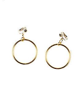 Goldtone Clip On Earrings