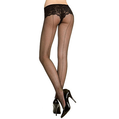 1920s Style Stockings, Tights, Fishnets & Socks Fishnet Tights $7.99 AT vintagedancer.com
