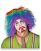 Rainbow Clown Adult Wig