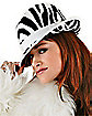Adult Delio Zebra Hat