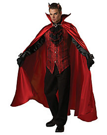 Adult Handsome Devil Costume - Theatrical