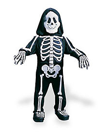 Toddler Totally Skelebones One Piece Costume