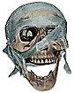 White Mummy Skull Prop