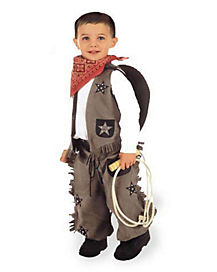 Toddler Taupe Cowboy Costume