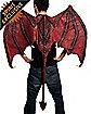 Rubber Demon Wings with Back Bone