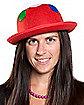 Polka Dot & Sunflower Derby Hat