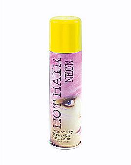 Flourescent Yellow Hairspray
