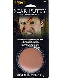 Scar Putty Makeup