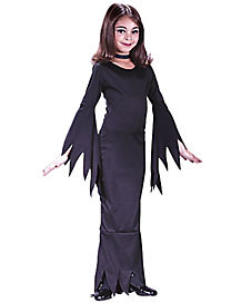 Kids Morticia Costume