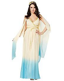 adult blue athena costume