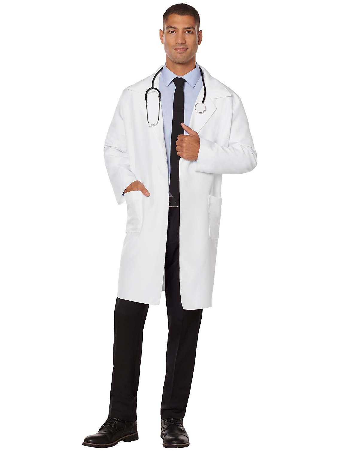 adult lab coat doctor costume