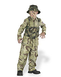 Kids Delta Force Soldier Costume