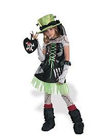 Kids Monster Bride Costume