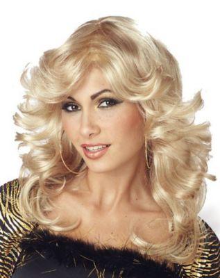 Vintage Hair Accessories: Combs, Headbands, Flowers, Scarf, Wigs Discorama Mama Wig by Spirit Halloween $19.99 AT vintagedancer.com
