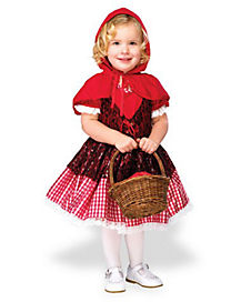 Toddler Lil' Red Riding Hood Costume