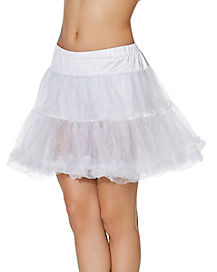 white petticoat deluxe - Halloween Petticoat