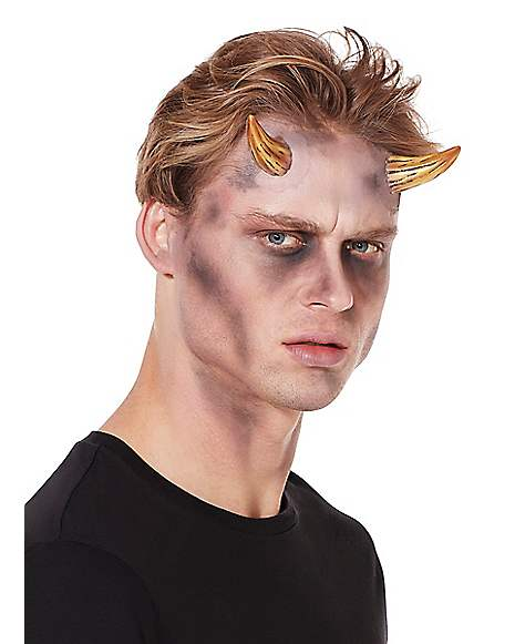 Brown Demon Horns Spirithalloween Com 😈 common in simple illustrations and. brown demon horns spirithalloween com
