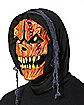 Hooded Pumpkin Monster Mask