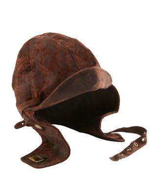 Steampunk Hats | Top Hats | Bowler Aviator Hat by Spirit Halloween $24.99 AT vintagedancer.com