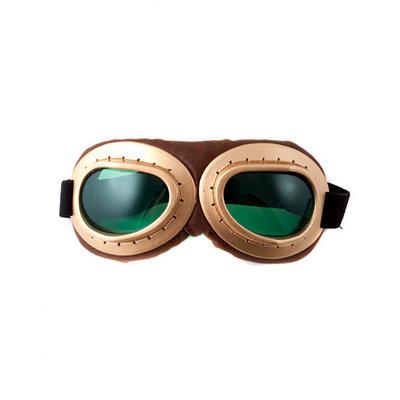 Men's Steampunk Goggles, Guns,  Accessories Aviator Goggles $12.99 AT vintagedancer.com