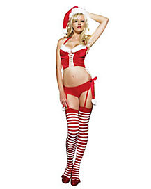 Adult Miss Naughty Claus Costume