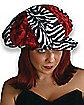 Red Zebra Applejack Hat