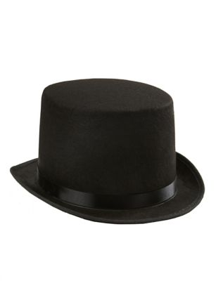 Steampunk Hats | Top Hats | Bowler Top Hat by Spirit Halloween $9.99 AT vintagedancer.com