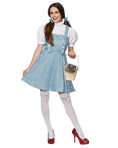 Adult Dorothy Costume - Wizard of Oz  sc 1 st  Spirit Halloween & Adult Dorothy Costume - Wizard of Oz - Spirithalloween.com