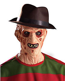 Freddy Krueger Brown Fedora - A Nightmare on Elm Street