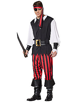 Adult Cutthroat Pirate Costume