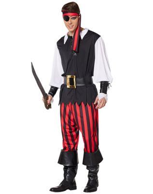 Adult Cut Throat Pirate Costume