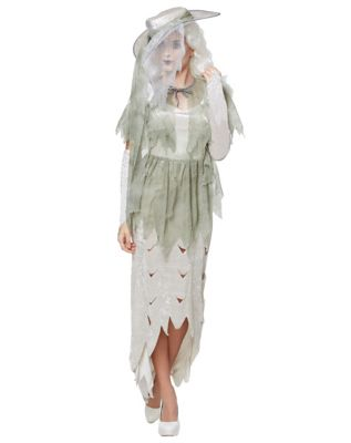 Easy DIY Edwardian Titanic Costumes 1910-1915 Adult Ghostly Gal Costume by Spirit Halloween $39.99 AT vintagedancer.com