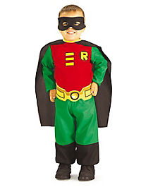 Toddler Robin One Piece Costume - Batman