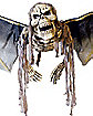Large Hovering Winged Demon Skeleton Decoration