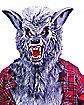 Deluxe Silver Werewolf Mask