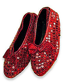 red sequin shoe covers - Spirit Halloween Medford Ma