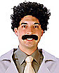 Eurasian Traveler Wig and Moustache